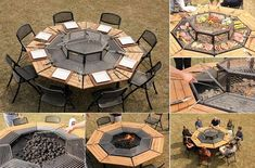 30+ DIY Fire Pit Ideas and Tutorials for your Backyard | www.FabArtDIY.com      #tutorial, #garden&backyard, #patio, #firepit, #outdoor design      Follow us on Facebook ==> https://www.facebook.com/FabArtDIY