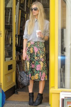 Laura Bailey - shares with us her fashion and style choices, day 5