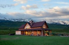 Could you live in this Barn Mountain Home?  www.sandcreekpostandbeam.com  https://www.facebook.com/pages/Sand-Creek-Post-Beam-Traditional-Post-Beam-Barn-Kits/66631959179