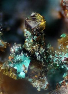 Bariopharmacosiderite - Spain / Mineral Friends <3