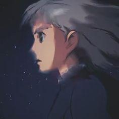 Credit to owner Aesthetic Movies, Aesthetic Videos, Aesthetic Anime, Studio Ghibli Art, Studio Ghibli Movies, Wallpaper Animes, Animes Wallpapers, Arte Bob Marley, Howls Moving Castle Wallpaper
