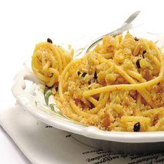 Ricetta Bucatini con il cavolfiore alla siciliana