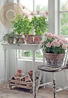 Theme: The Pink Geranium Cottage~