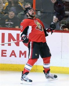 Guillaume Latendresse of the Senators  3-11-13