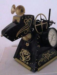 Victorian steampunk K9!