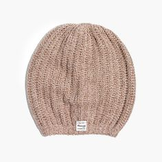 Madewell Softest Ribbed Beanie Cotton Viscose 135a5a4688fc