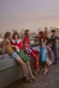 The German capital's brutalist architecture is the setting for the Gucci S/S 2016 campaign by Glen Luchford  [campaign]