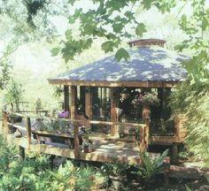 Yurt - my dream home Yurt Interior, Yurt Home, Yurt Living, Earth Homes, Natural Building, Earthship, Round House, Little Houses, Glamping