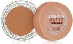 Amazon.com : Maybelline New York Dream Matte Mousse Foundation, Light Beige, 0.64 Ounce : Foundation Makeup : Beauty