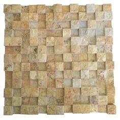 3D Sarı Traverten 2.5X2.5 Fileli Patlatma Taş  www.tasdekorcum.com #dekor #patlatmatas #mozaik #dogaltas#naturalstonemosaic #naturalstone  Natural Stone Mosaic Natural Stone Wall Natural Stone Mosaic Subway Wall Tile Fileli Patlatma Taş Doğal Taş Patlatma Mozaik
