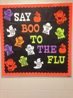 Bulletin board for school nurse office