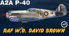 a P-40 skin made for A2A P-40 by Tom Weiss , hosted at www.lockonfiles.com