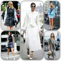 Todas las reinas de el STREET STYLE sacan a lucir sus mejores modelos en los dias de la HAUTE COUTURE FASHION WEEK de PARIS. Inspirate en ellas y estaras a la ultima!!💟 #oliviapalermo #giovannabattaglia #chiaraferragni #miroslavaduma  #fashionweekparis