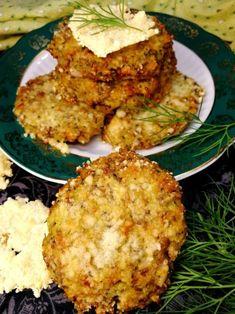 Low Carb Diet, Salmon Burgers, Mozzarella, Cauliflower, Diet Recipes, Vegan, Vegetables, Ethnic Recipes, Anna