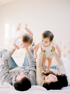 Twin family photos on film by Coco Tran | 100 Layer Cakelet