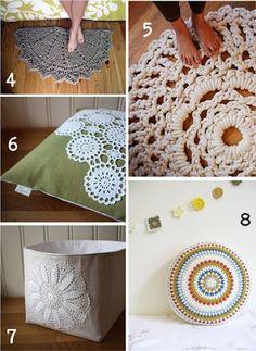 Fácil y Sencillo: El ganchillo está de moda: mantas, cojines, alfombras...