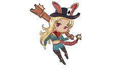 New hero Gwen #vaingloryart #vainglory #gwen #chibi #bunny #kawaii