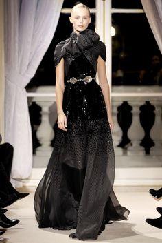Giambattista Valli Spring 2012 Couture Fashion Show - Frida Gustavsson (IMG)