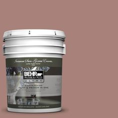 BEHR Premium Plus Ultra Home Decorators Collection 5-gal. #hdc-NT-07 Hickory Branch Semi-Gloss Enamel Interior Paint