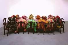 "Philadelphia's Barnes Foundation opens ""Yinka Shonibare MBE: Magic Ladders"" (Work courtesy James Cohan Gallery, New York/Shanghai and Stephen Friedman Gallery, London)"