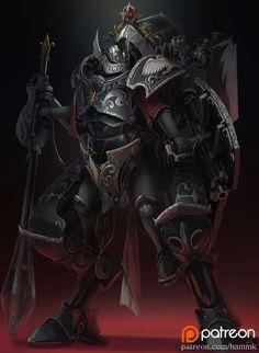 Warhammer 40k Art, Warhammer Fantasy, Fantasy Warrior, Fantasy Art, Character Concept, Concept Art, 40k Sisters Of Battle, D D Characters, Space Marine