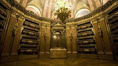 The Royal tombs of Spanish Kings and Queens. SXVII