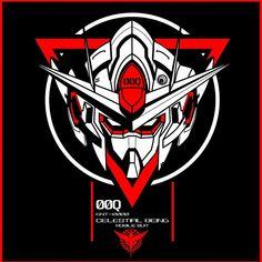 head of 00 qanta gundam from gundam 00 inspired by done in corel draw 00 QAN [T] Gundam Head, Gundam 00, Gundam Wing, Gundam Wallpapers, Wallpaper Wallpapers, Genesis Evangelion, Gundam Mobile Suit, Custom Gundam, Mecha Anime