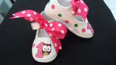 Look Whoos One Owl Painted MaryJane Shoes Owl First Birthday, Owl Birthday Parties, Little Girl Birthday, Special Birthday, Baby Birthday, Little Girls, Birthday Ideas, Owl 1st Birthdays, Toddler Girl Shoes
