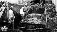 Stolen Ferrari found buried in backyard [PHOTO]: -- Feb. A buried Ferrari, stolen in is dug up from a backyard on West Street, still in good condition. Ferrari Daytona, Ferrari Ff, Best Barns, Ferrari California, Matchbox Cars, Abandoned Cars, Abandoned Vehicles, Los Angeles Homes, Barn Finds