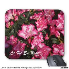 Searching for that perfect gift? Zazzle have the perfect pink gift for any occasion. Explore our fab gifts today! Mousepad, Create Yourself, Floral Design, Inspired, Rose, Flowers, Pink, Gifts, Inspiration