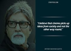 15 Quotes By Amitabh Bachchan That Prove He Is The 'Shahenshah' Of Bollywood Broken People, Real People, Man Images, Life Images, Amitabh Bachchan Quotes, Real Quotes, Life Quotes, Challenge Images, Cinema Quotes