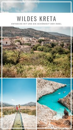 Crete Road Trip: We drove across the island of Zeus, discovering Caribbean beaches, sleepy mountain Places To Travel, Places To Visit, Greece Holiday, Reisen In Europa, Europe Destinations, Destin Beach, Greece Travel, Beach Fun, Crete