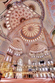 Blue Mosque, Istanbul ,Turkey.