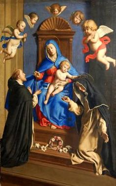 our lady of the rosary images - Google Search