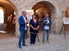 Inaugurazione mostra d'arte Grottammare