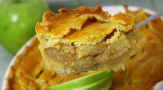 Receita de torta de maçã tradicional