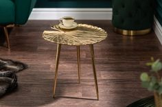 Photo by reactioncz on March tableYou can find Furniture ideas and more on our website.Photo by reactioncz on March table Find Furniture, Furniture Ideas, Water Lilies, Table Legs, Chesterfield, Elegant, Gold Leaf, Art Deco, Living Room