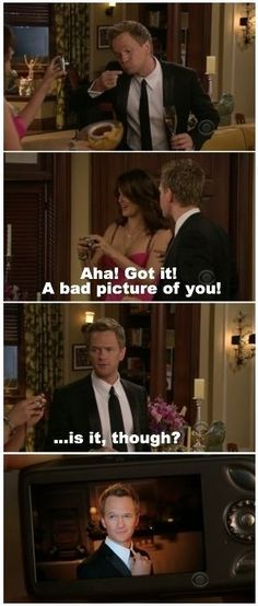 how I met your mother funny quotes and pictures | funny how i met your mother barney wish i was that photogenic