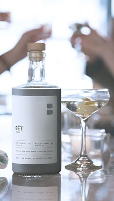 BĒT Vodka is a premium-pour, top-shelf vodka made from the hearts of sugar beets and made for sipping and sharing with family and friends.