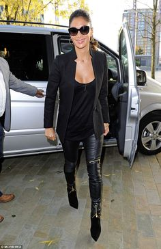 So on trend! Nicole turned heads when she stepped out in Manchester ahead of her BBC Break...