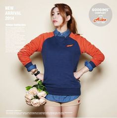 """Ailee is Featured in Fall/Winter Collection for Clothing Line """"Googims"""" 