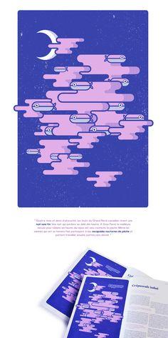 Illustration pour un article portant sur la nuit sans fin des Inuits du Grand…