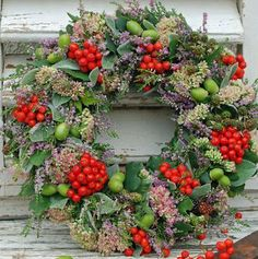 Herb Holiday Wreath