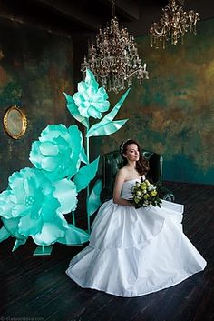 Атрибуты восторга. Большие цветы. Бумажные цветы. Эксклюзивный декор.