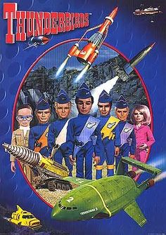 Thunderbirds are go for a new series (But will there be puppets? Tv Sendungen, Mejores Series Tv, Thunderbirds Are Go, Cinema Tv, Cinema Ticket, Movies And Series, Netflix Series, Film D'animation, Vintage Tv