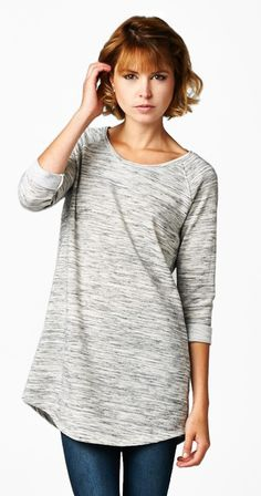 Simplicity- Tunic length tops are the bomb for multiple reasons. They look…