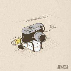 Sin rollo / Out of film by Wawawiwa design, via Flickr