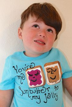 Food Allergy Awareness Week - Your the Sunbutter to my Jelly T-shirt