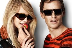 The Burberry Eyewear Spring/Summer 2012 campaign - EDDIE I HAVEN'T SEEN YOU IN SO LONG... awk, I've moved on to Harry Styles... xo?
