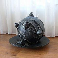 Decoratie Vogeltjes op een bol